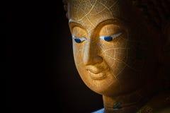 Buddha affronta Fotografia Stock