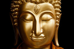 Buddha affronta Immagini Stock