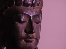 Buddha affronta Fotografia Stock Libera da Diritti