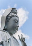 Buddha against blue sky Stock Images