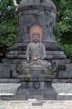 Buddha aksobhya statue Stock Image