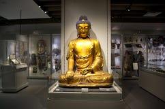 Buddha al museo di antropologia a UBC Fotografie Stock Libere da Diritti