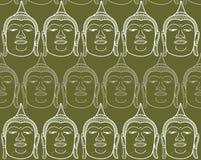Buddha alinha o zen ilustração stock
