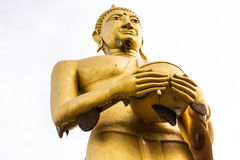 Buddha alms bowl posture Royalty Free Stock Images