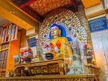 Buddha altair in Dharamsala Stock Images