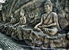 Buddha - amazing asia. The Buddha Statue is a symbol of Buddhism`s ancient founder, Siddhartha Gautama. It signifies the `Enlightened One,` the basic idol of stock photos