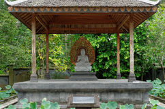 Buddha amoghasiddhi statue Royalty Free Stock Photography