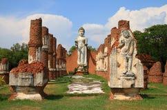 Buddha at Ancient City Royalty Free Stock Photos