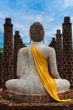 Buddha in Ancient City Royalty Free Stock Images