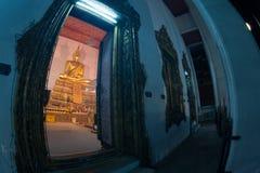 Buddha in ancient temple, Bangkok,Thailand. Stock Images