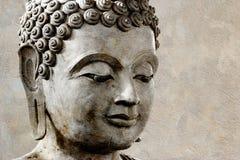 Buddha antico affronta, Fotografie Stock