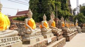 Buddha antico tailandese Fotografia Stock Libera da Diritti