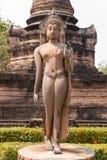 buddha antyczna statua park sukhothai historyczne obrazy stock