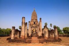 buddha antyczna statua park sukhothai historyczne zdjęcia royalty free