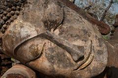 buddha antyczna twarz Zdjęcie Stock
