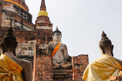 Buddha anziano Fotografie Stock