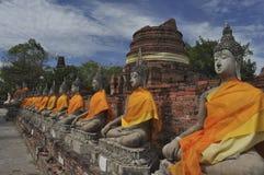 Buddha anziano Immagini Stock Libere da Diritti