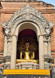 Buddha and arch  Sculpture of History Stock Photo