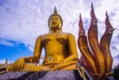 Buddha. Of architecture Royalty Free Stock Images