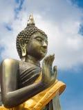 Buddha auf der Haltung des Überzeugens seiner Verwandten nicht zum quarre Lizenzfreie Stockfotos