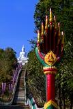 Buddha auf Wald Lizenzfreies Stockbild