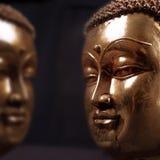 Buddha-Aufenthaltsraum Stockfotos