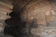 Buddha av den Yungang grottakloster av Datong Arkivbild