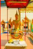 Buddha av lampglasskulptur Royaltyfria Bilder