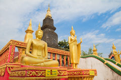 Buddha av norr Laos Royaltyfria Bilder