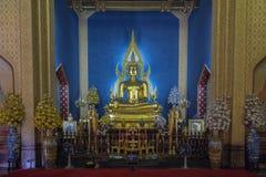 Buddha av watbenchamabophit (wat, phoen, bangkok) Royaltyfri Foto