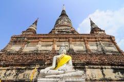 Buddha Ayuthaya, Tajlandia Obrazy Stock