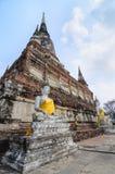 Buddha Ayuthaya, Tajlandia Zdjęcie Stock