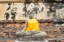 Buddha Ayuthaya, Tajlandia Fotografia Stock