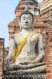Buddha Ayuthaya, Tajlandia Fotografia Royalty Free