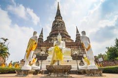 Buddha Ayuthaya, Tajlandia Zdjęcia Stock