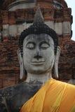 Buddha a Ayutthaya, Tailandia: 2 fotografie stock libere da diritti