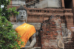 Buddha in Ayutthaya Royalty Free Stock Images
