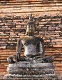 Buddha in Ayutthaya Thailand Stock Photo