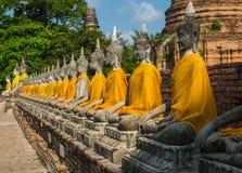 THE BUDDHA OF AYUTTHAYA Royalty Free Stock Photography