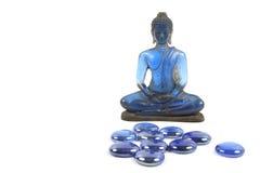 Buddha azul imágenes de archivo libres de regalías