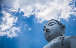 Buddha azul Fotografía de archivo