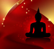Buddha background Royalty Free Stock Photo