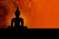 Buddha background Royalty Free Stock Image