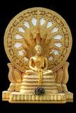 Buddha bakre Thammachak, Thailand Arkivbilder