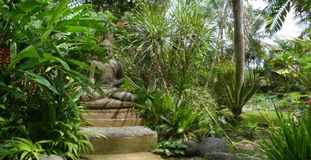 Buddha in Bali Royalty Free Stock Image