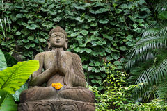 Buddha in the Bamboo forrest green garden. Buddha in the Bamboo forrest and green garden Stock Photos