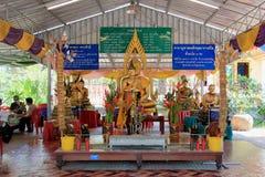 Buddha at Bangnangleeyai Temple Stock Images