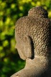 Buddha bei Borobudur, zentrales Java, Indonesien Stockbild