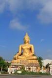 Buddha bei Wat In Kanlaya Stockfotografie