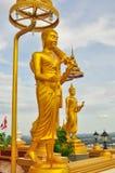 Buddha bei Wat Kiriwong Stockbilder